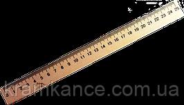 Линейка деревянная 25 см