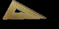 Треугольник деревянный 30х60х90 16 см