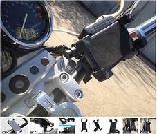 Держатель телефона на руль мотоцикла велосипеда, фото 3