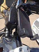 Держатель телефона на руль мотоцикла велосипеда, фото 2
