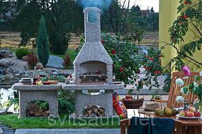 Садовое барбекю NORMAN ( Чехия )  Atlas, фото 2