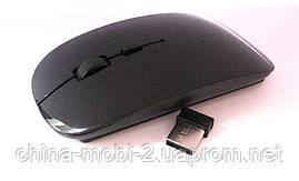 Миша оптична безпровідна в стилі Apple , black, фото 2