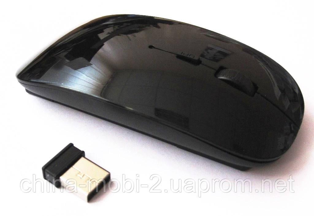 Миша оптична безпровідна в стилі Apple , black