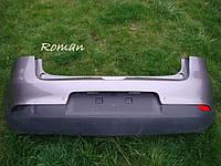 Бампер задний Рено Меган 3 хетчбек с камерой и парктроником