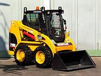 Купить мини-погрузчик CAT 216-B, 2006 г (№ 855)
