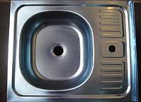 Кухонная накладная мойка Asil (0,4мм) 60х50см.