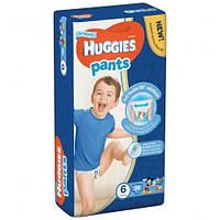Подгузники-трусики Huggies Pants для мальчиков 6 (15-25кг) 36 шт.