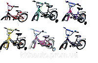 "Велосипед Mars диаметр колес 16""р.гальмо+ексцентрик (синий/чорный)"