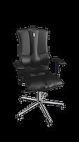 Кресло Elegance (Элеганс) экокожа черная (ТМ Kulik System)