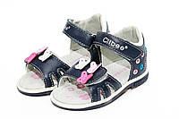 Детские кожаные босоножки для девочек Clibee F149 Blue  (20-25)