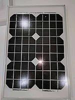 Универсальная солнечная панель UKC 10W 18V с клещами 340*230*9мм, 36x24