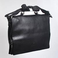 Чоловіча  ділова  шкіряна  сумка/портмоне  з  ручками