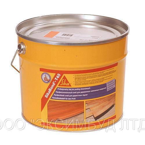 SikaBond-T45  - однокомпонентный полиуретановый клей для паркета, 15 кг.