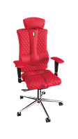 Крісло Elegance (Елеганс) екошкіра червона,шов Design (ТМ Kulik System)