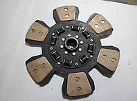 Диск сцепления МТЗ 6-ти лепестковый с керамическими вставками 2022-1601130А