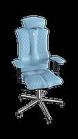 Крісло Elegance (Елеганс) екошкіра світло-синя,шов Design (ТМ Kulik System)