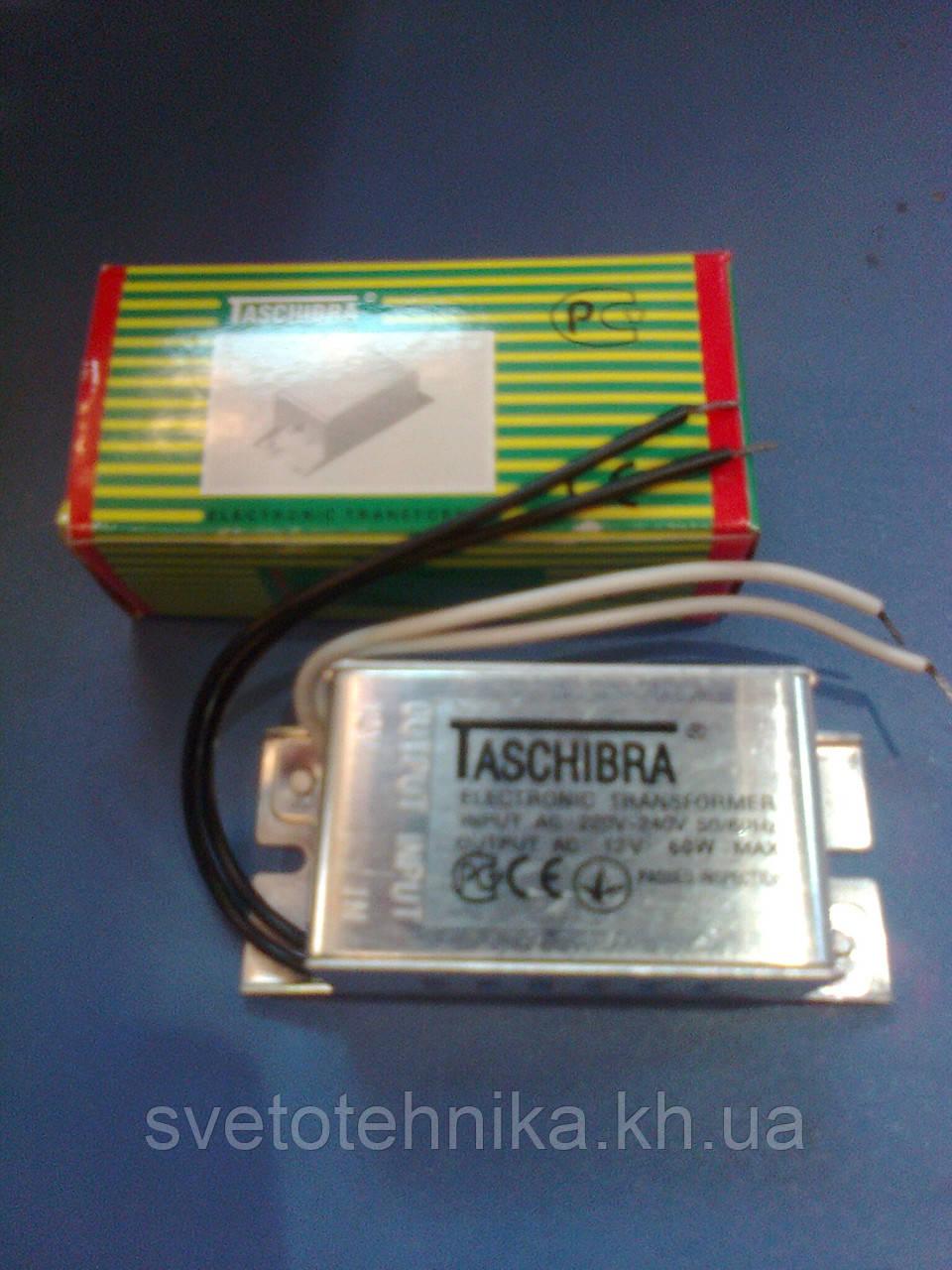 Трансформатор понижающий для галогенных ламп 12V Feron 60W / TRA 25 (TASHIBRA)
