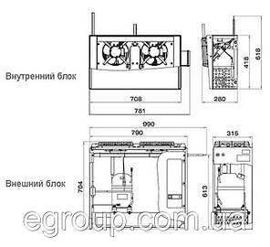 Сплит-система Polair SM 218 S, фото 2