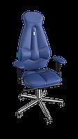Кресло Galaxy (Галакси) экокожа синяя (ТМ Kulik System)