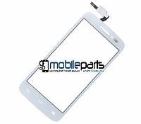 Оригинальный Сенсор (Тачскрин) для Alcatel  OT5042D Pop 2 (белый)
