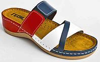 Шлепанцы кожаные для женщин LEON