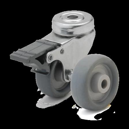 Аппаратные колеса. Нагрузка 40 - 80 кг. t 0/+80С. Серия 60