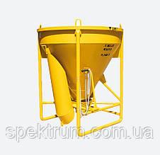 Бадья для раствора SPEKTRUM ББМ-1,0 на 1 м3, вес 188 кг