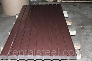 Мерный лист С-8 коричневый (8017)