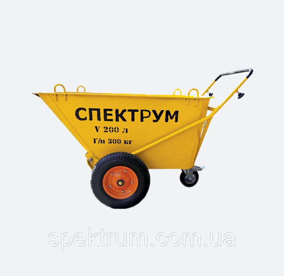 Тачка строительная усиленная Spektrum ТС-3