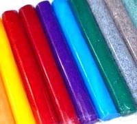 Полимерная глина Lema Glitters набор 12 цветов