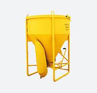 Бункер для бетона SPEKTRUM ББМ-1,5 на 1,5 м3, вес 220 кг