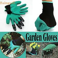 Перчатки для сада и огорода Garden Genie Glovers (Джини), фото 1