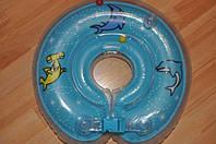 Детский надувной плавательный круг на шею, деткам от 0 до 2х лет