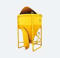 Бадья для бетона туфелька SPEKTRUM ББМП-1,5 на 1,5 м3, вес 240 кг