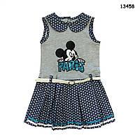 Летнее платье Mickey Mouse для девочки. 2, 3, 4, 5 лет