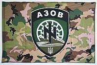 """Флаг полка """"Азов"""". Прапор Азов, фото 1"""