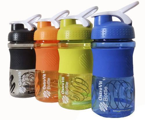 Шейкер Blender Bottle Sportmixer Shaker OstroVit 600 ml (20 oz), фото 2