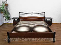 """Дерев'яні меблі для спальні від виробника """"Каприз"""" (ліжко з тумбочками), фото 2"""