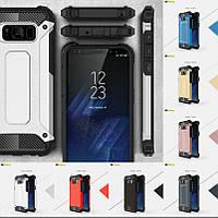 """Samsung G955F S8+ PLUS противоударный чехол оригинальный бампер панель накладка для телефона """"ARM NAVY"""""""