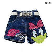 Джинсовые шорты Daisy для девочки. 2 года