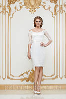 Вечернее платье с гипюром, фото 1
