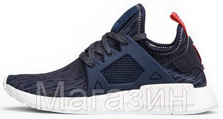 19973883cb45 Купить Женские кроссовки Adidas NMD XR1 Primeknit Адидас НМД синие в ...