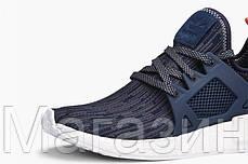 Женские кроссовки Adidas NMD XR1 Primeknit Адидас НМД синие, фото 3
