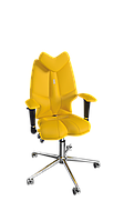 Кресло Fly (Флай) экокожа желтая (ТМ Kulik System)