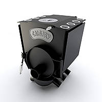 Печь варочная с конфоркой тип 00 (130м.куб)  – CALGARY. Булерьян варочный, сталь 4мм