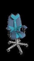 Кресло Fly (Флай) ткань Азур джинс-бирюза (ТМ Kulik System)