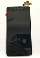Оригинальный дисплей (модуль) + тачскрин (сенсор) для Xiaomi Redmi Note 4X (черный цвет)