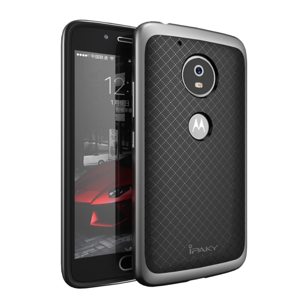 Чехол накладка IPAKY TPU + бампер PC для Motorola Moto G5 серый