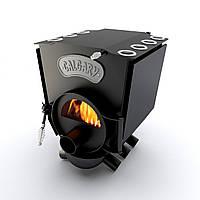 Печь варочная со стеклом тип 00 (130м.куб)  – CALGARY. Булерьян варочный, сталь 4мм