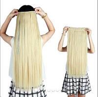 Одиночная широкая прядь цвет №613 блонд